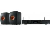 Audiolab 6000A Play + KEF...