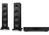 Audiolab 8300A + KEF Q750