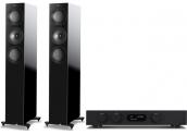Audiolab 8300A + KEF R5