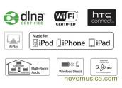 Altavoz WIFI Pioneer XW-SMA1 DLNA XWSMA1 mando a distancia, Airplay, 3 altavoces