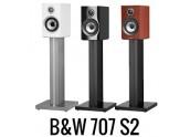 B&W 707 S2 | Altavoces Bowers & Wilkins en color Blanco, Negro, Nogal y Rosenut