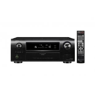 Denon AVR-3311 3D, 165W x 7 canales, salida dual HDMI seleccionable,