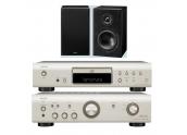 Denon PMA-510 AE + CD-510 AE + altavoces Denon SC-F107