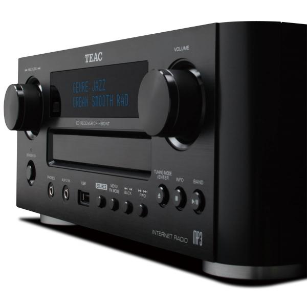 Teac CRH-500 Micro cadena, lector CD/MP/WMA, la vesrsio NT radio de internet. US