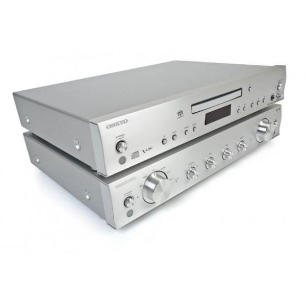 Onkyo A-5VL Amplificador integrado de2x80Watios a 4 ohms.Entrada de giradiscos M