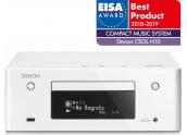 Denon RCD-N10 | Amplificador con Streamer y CD - Color Blanco Plata Negro - Oferta Comprar