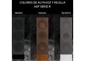 KEF R7   Altavoces - Color Blanco - Negro - Nogal - Oferta Comprar