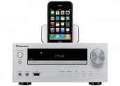 Pioneer X-HM50 Micro cadena. Dock iPod, USB, minijack, radio AM/ FM. Lector CD-M
