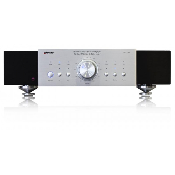 Advance Acoustic MPP505 Preamplificador estereo. Entradas RCA y Digitales. DAC i