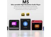 FiiO M5   Reproductor de Audio Portatil / Hi-Res - Negro, Titanio, Rojo y Azul - oferta Comprar