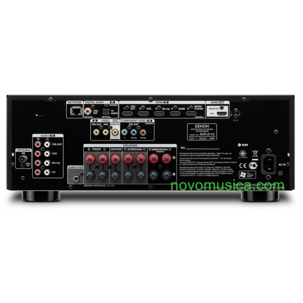 Home Cinema Denon AVR2113 + Bose Acoustimass 6 S3