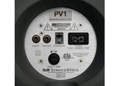B&W PV1 Subwoofer 500 w. Altavoz de 2x200 mm. Recinto cerrado con radiador pasiv