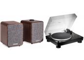 Audio Technica LP5x + Ruark...