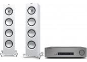Cambridge Audio CXA61 + KEF...